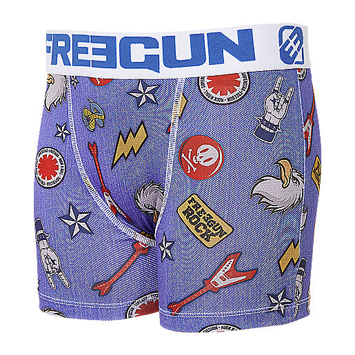Lot de 2 boxers garçon Multicolore BMXH182 FREEGUN