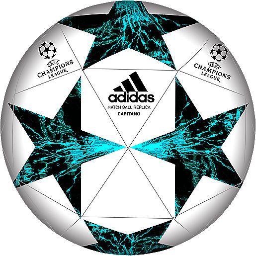 Ballon de football Finale Champions League 17 Capitano blanc-noir BP7778  ADIDAS