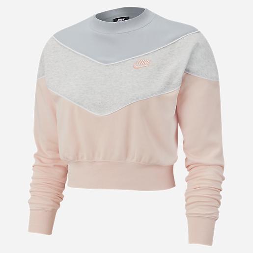 sweatshirt femme heritage crew sb