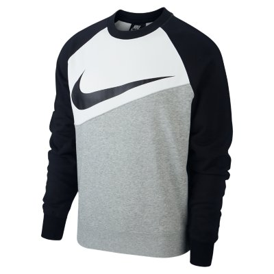 Sweat Homme Swoosh Crew FT NIKE | INTERSPORT