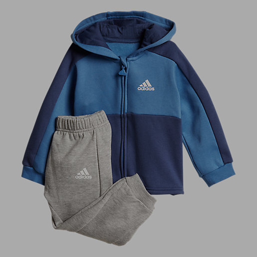 c7af685eefcfe Ensemble Survêtement Bébé Linear En Molleton De Coton Fleece ADIDAS ...