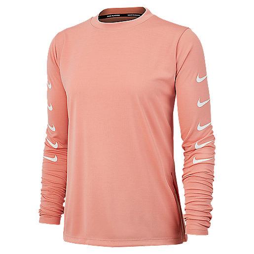 T shirt de running manches longues femme Swoosh Run NIKE