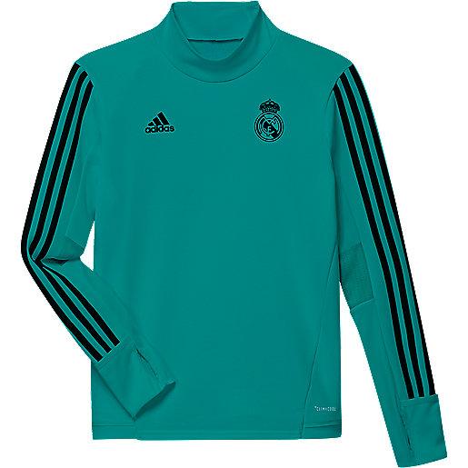 Manches Football Real Madrid Longues Enfant Haut D'entraînement cFlK3TJ1