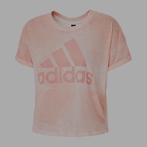adidas Essentials AOP T Shirt à Manches Courtes pour Femme