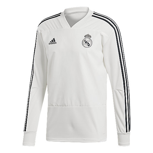 Haut d'entraînement football manches longues homme Real Madrid Multicolore CW8664  ADIDAS