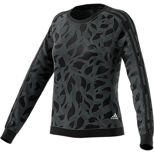 Adidas Printed Sweatshirt Over Essentials All Femme E9WH2ID