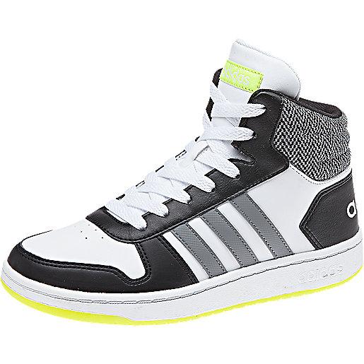 timeless design 78275 6ef9d Lettrage Adidas sur la languette et le talon. Sneakers enfant Vs Hoops Mid  2.0 DB1948 ADIDAS