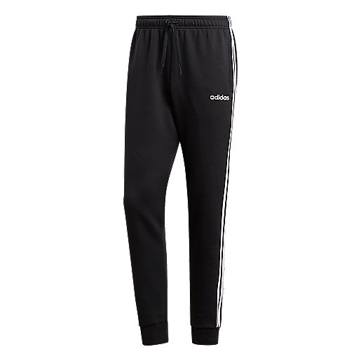 Pantalon à revers homme Essentials 3 Stripes Tapered FL Cuffed ADIDAS