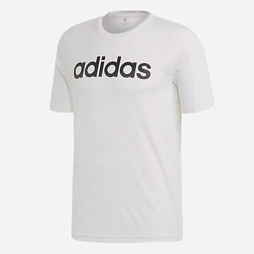 tee shirt blanc adidas homme