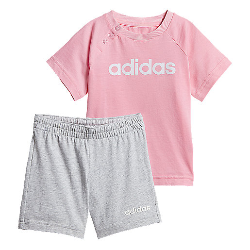 f76733d2c405b Ensemble survêtement bébé Linear Summer Set Multicolore DV1269 ADIDAS
