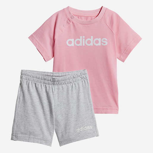 90ef40be4631c Ensemble Survêtement Bébé Linear Summer Set ADIDAS