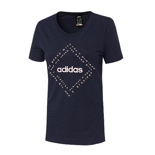 f901d3e50a7 T-shirt manches courtes femme Kinesics Multicolore DY3457 ADIDAS