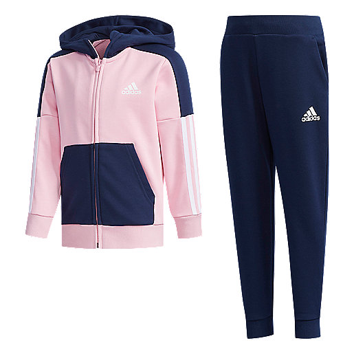 150a88d9275d1 Ensemble survêtement garçon Little Kid French Terry Multicolore DY9234  ADIDAS