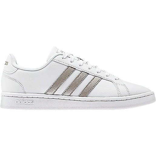 dd55f59e21543d Sneakers femme Grand Court Multicolore F36485 ADIDAS