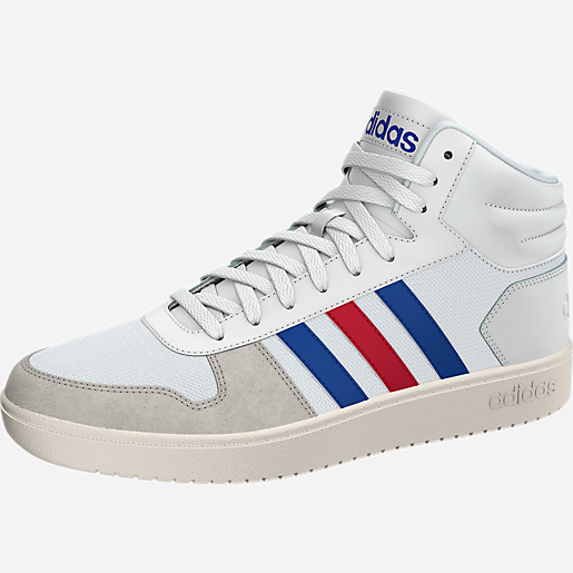 sneakers fille hoops 2.0 mid adidas