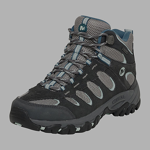 1cd96e1a96e Chaussures Montagne Femme Ridgepass Mid Gore-Tex® gris fonce-gris ...