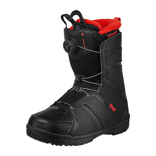 Bottes De Snowboard Transfer Boa NOIR SALOMON | INTERSPORT