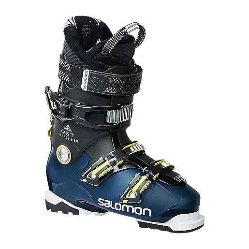 Chaussure de ski Salomon Qst Access 80 Black Petrol Blue True Green