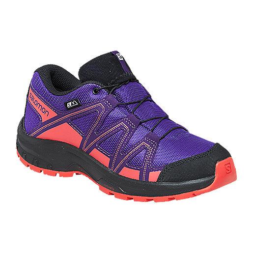 0fd4df9f09b Chaussures de randonnée enfant Kicka Cswp Multicolore L406567 SALOMON
