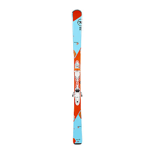 Skis all mountain femme Temptation 80 Xpress avec fixations W 11 B83 Bleu-Orange RRF02ET ROSSIGNOL