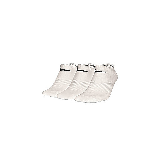 Chaussettes de training Pack Lightweight Invisble blanc SX4705  NIKE