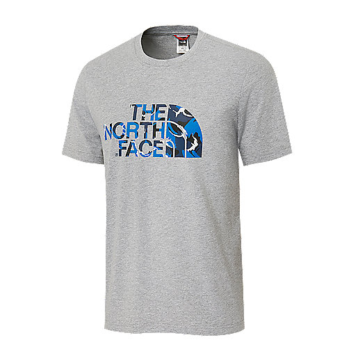 697f9fd7f5 T-shirt manches courtes homme S Extent II Logo Multicolore T93BUD THE NORTH  FACE