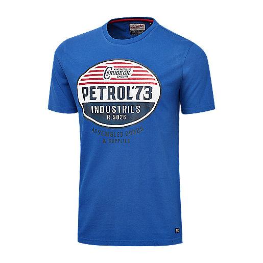 77694764d6277 T-shirt manches courtes homme Max Multicolore TSR002 PETROL