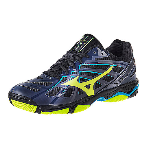 huge selection of 2cf72 a6141 Chaussures indoor homme Wave Hurricane 3 Multicolore V1GA17A MIZUNO