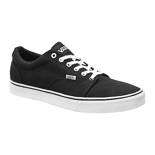 vans noir intersport