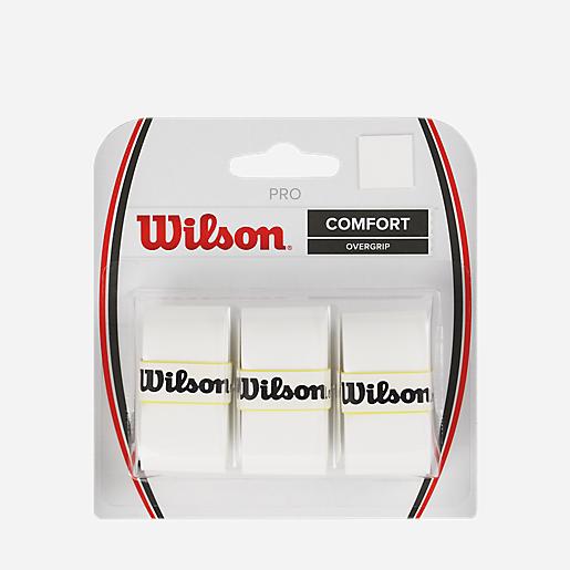 e2aa7ea50da494 Grip De Tennis Pro Overgrip BLANC WILSON | INTERSPORT