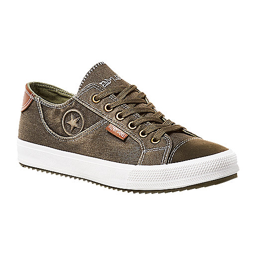 67457303e095e Chaussures en toile homme Multicolore YJW1744 TEDDY SMITH