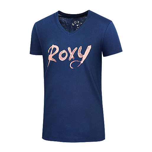 t shirt manches courtes fille roxy spray roxy intersport. Black Bedroom Furniture Sets. Home Design Ideas